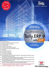 Official Guide To Financial Accounting Using Tally Erp  9 With Gst