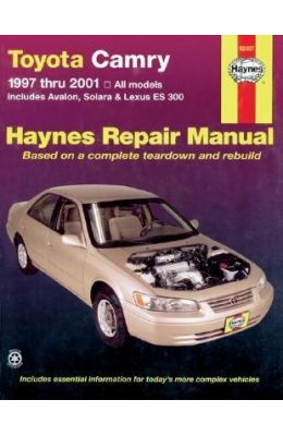 Toyota Camry And Lexus Es 300 Automotive Repair Manual (Haynes Automotive Repair Manuals)