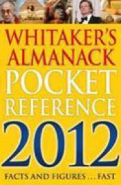 Whitaker's Almanack Pocket Reference 2012
