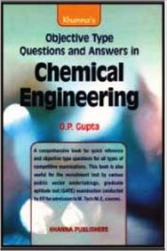 Chemical Engineering Objective Type Question and Answers