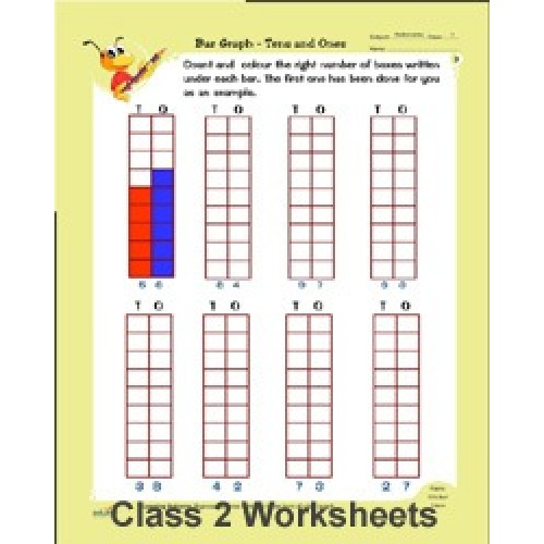 CLASS 2 MATHS , ENGLISH & EVS WORKSHEETS (Paperback)