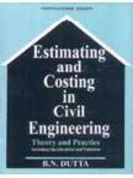 Estimating And Costing In Civil Engineering