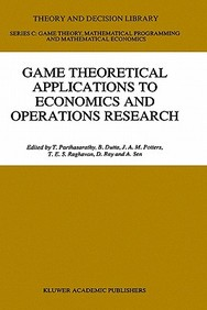 Game Theoretical Applications To Economics And Operations Research (Theory And Decision Library C)