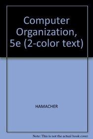 Computer Organization, 5th Edition, International Edition