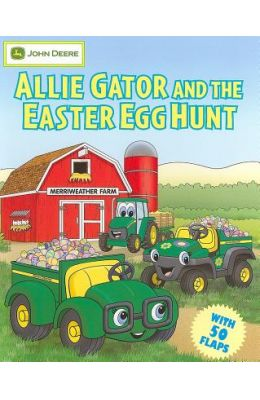 Allie Gator And The Easter Egg Hunt