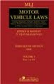 MLJ's - Motor Vehicle Laws ( With Special Emphasis on Motor Accidents Claims and Compensation) (2 Volume) 13th Edition price comparison at Flipkart, Amazon, Crossword, Uread, Bookadda, Landmark, Homeshop18