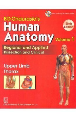 Human Anatomy Vol 1 Upper Limb & Thorax W/cd