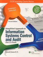 Simplified Approach To Information Systems Control & Audit (For CA Final): 2nd Edition