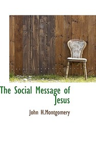 The Social Message Of Jesus