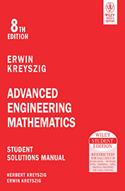 Advanced Engineering Mathematics: Student Solution Manual, 8ed