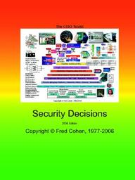 The Ciso Toolkit - Security Decisions - 2006