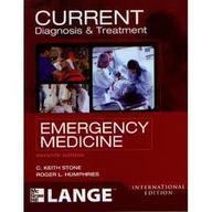 Current Diagnosis & Treatment Emergency Medicine