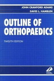 Outline Of Orthopaedics