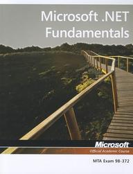 98-372 MTA .NET Fundamentals