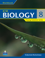 Young Scientist Series ICSE Biology Work Book 8