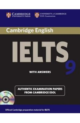 Cambridge IELTS 9 Self-study Pack (Student's Book with Answers and Audio CDs (2)) price comparison at Flipkart, Amazon, Crossword, Uread, Bookadda, Landmark, Homeshop18