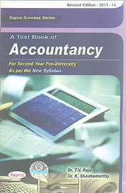 Text Book Of Accountancy: Ii P. U. C.