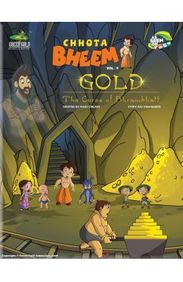 Gold The Curse Of Bhrambhatt - Chhota Bheem Vol 9