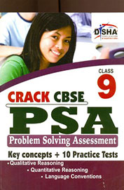 Crack CBSE-PSA Class 9 (Key concepts & 10 Practice papers)