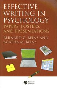 Effective Writing In Psychology: Papers, Posters, And Presentations / Edition 1
