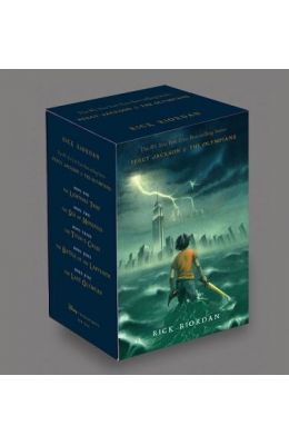 Percy Jackson and the Olympians Hardcover Boxed Set (Percy Jackson & the Olympians)