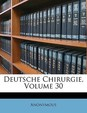 Deutsche Chirurgie, Volume 30 (Slovak Edition)