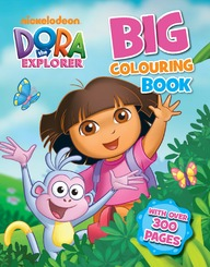 Dora: The Explorer Big Colouring Book