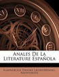 Anales De La Literature Española (Spanish Edition)