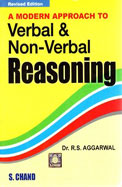 Modern Approach to Verbal and Non Verbal Reasoning