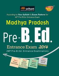 Madhya Pradesh Pre. B.Ed. Entrance Exam 2014